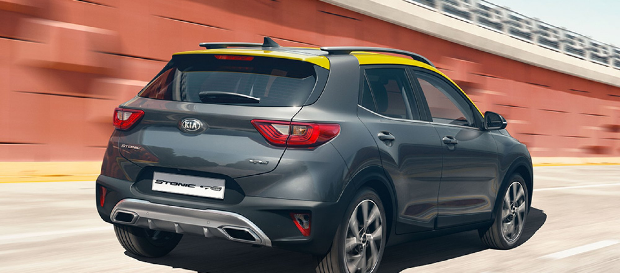 Rear styling with confident poise